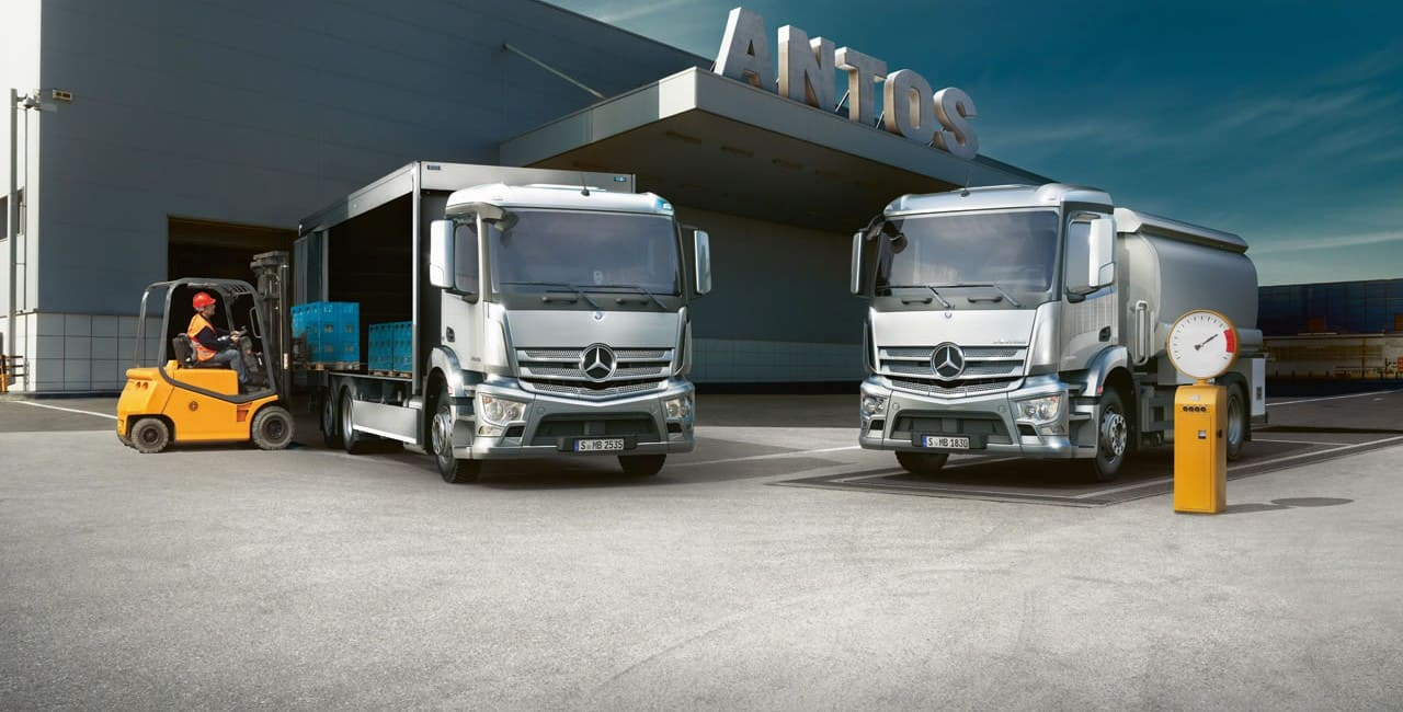 dexu camions Mercedes auvity